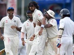 Photo : When Ishant Sharma Gets Angry, Sri Lanka Suffer