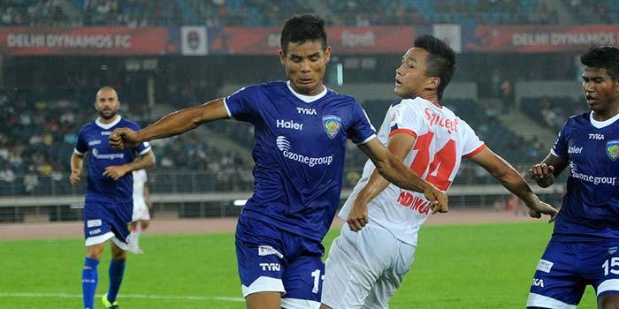 ISL: Delhi Dynamos Overcome Chennaiyin FC 1-0