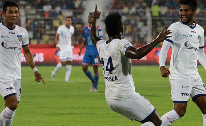 ISL: Mendoza's Hat-Trick Helps Chennaiyin FC Sink FC Goa 4-0