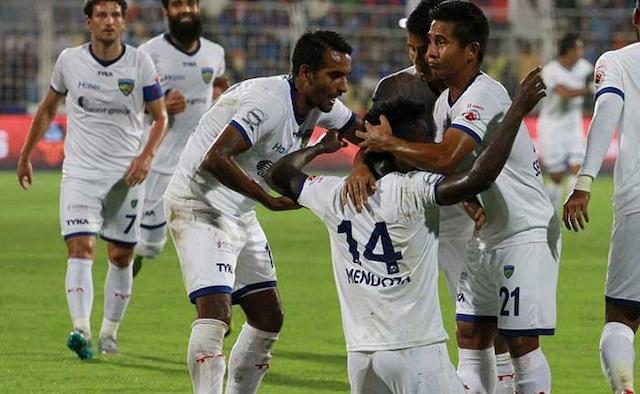 ISL: Mendozas Hat-Trick Helps Chennaiyin FC Sink FC Goa 4-0