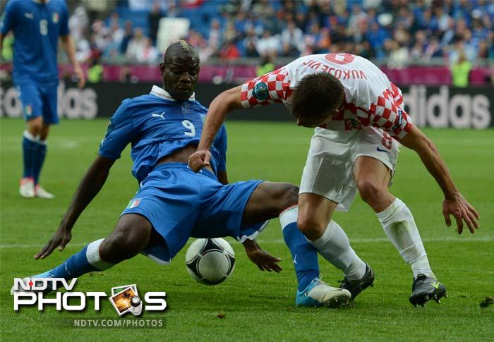 Italy held to a 1-1 draw by Croatia