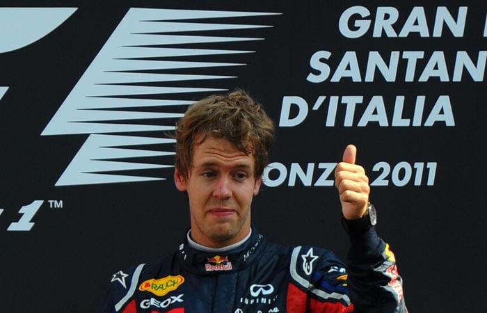 Vettel wins Italian Grand Prix
