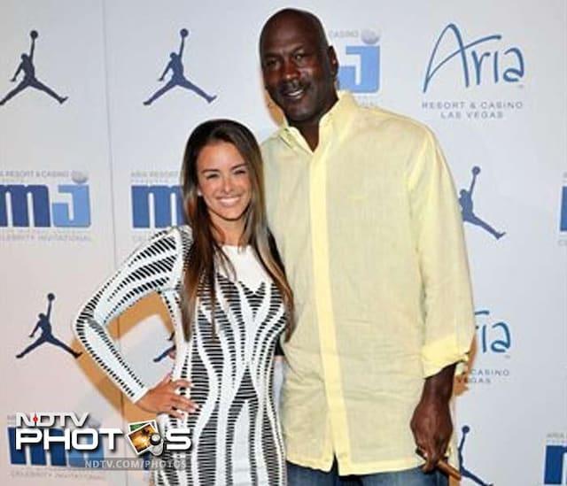 NBA legend Jordan ties the knot