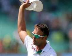 Photo : Farewell Test: Standing ovation for Jacques Kallis at Kingsmead