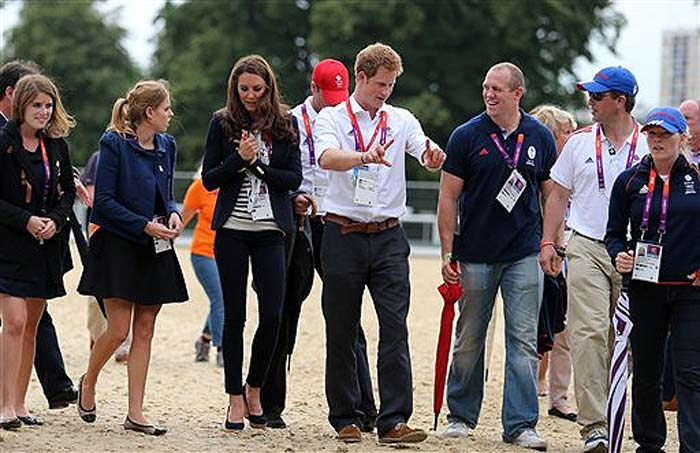 Prince William and Kate Middleton at Olympics