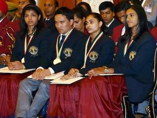 Indias Khel Ratnas Honoured on National Sports Day