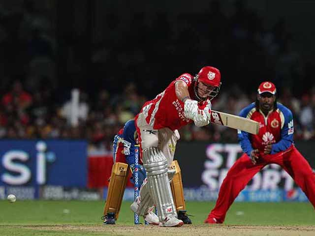 IPL 7: Kings XI Punjab Continue to Impress, Beat Royal Challengers Bangalore by 32 Runs