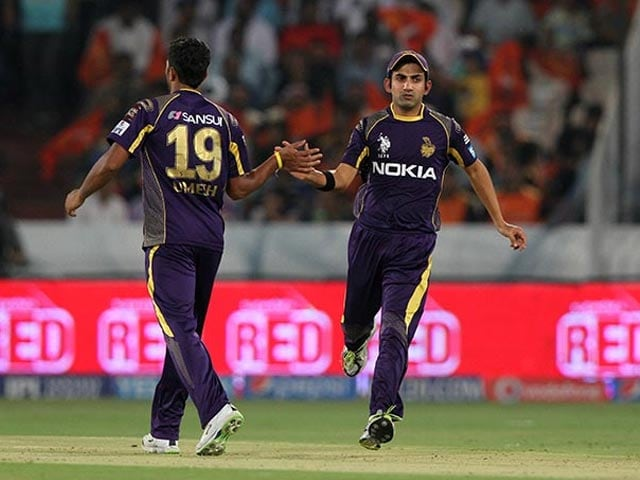 Kolkata defeat Hyderabad, consolidate fourth spot