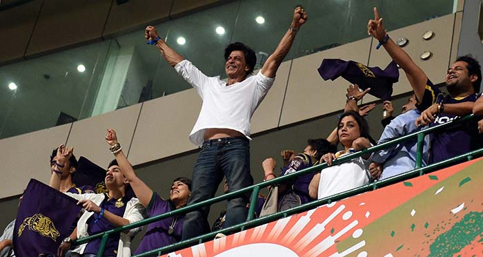 Kolkata Knight Riders Celebrate IPL 7 Triumph