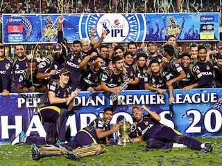 Kolkata Knight Riders Celebrate IPL 7 Triumph