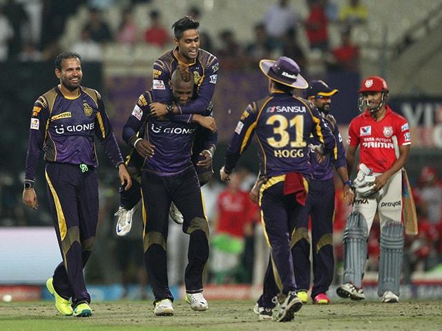 Photo : आईपीएल: काम न आया मैक्सवेल का अर्धशतक, कोलकाता ने पंजाब को 7 रन से हराया