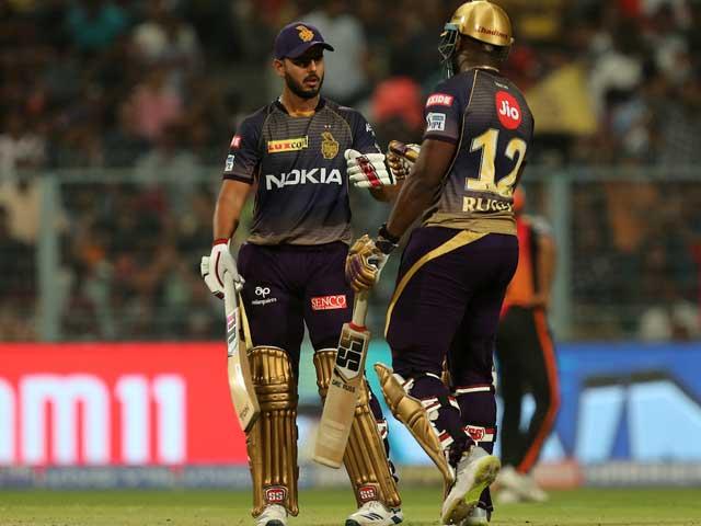 Photo : आईपीएल 2019:  केकेआर ने सनराइजर्स हैदराबाद को 6 विकेट से हराया