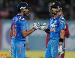Photo : 1st ODI: India crush West Indies by six wickets