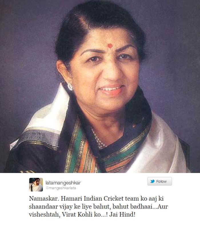 Celebs hail 'superstar' Virat Kohli on Twitter