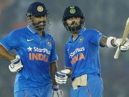 Photo : Dhoni, Kohli Give India 2-1 Lead in 5-Match Series
