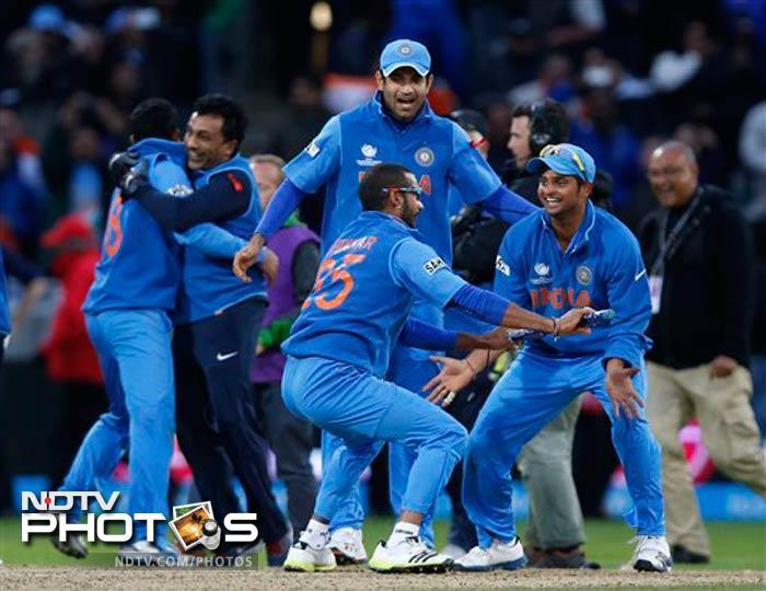Virat Kohli leads the dance of champions