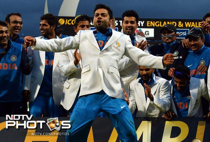 India Has Tough Road To Champions Trophy: Virat Kohli Leads The Dance Of Champions