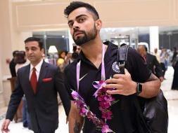Photo : Virat Kohli's India Arrive in Sri Lanka for Three-Test Series