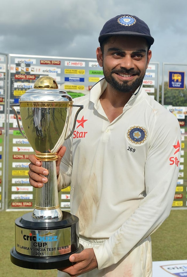 Virat Kohli Leads Indias Celebrations After Historic Series Win