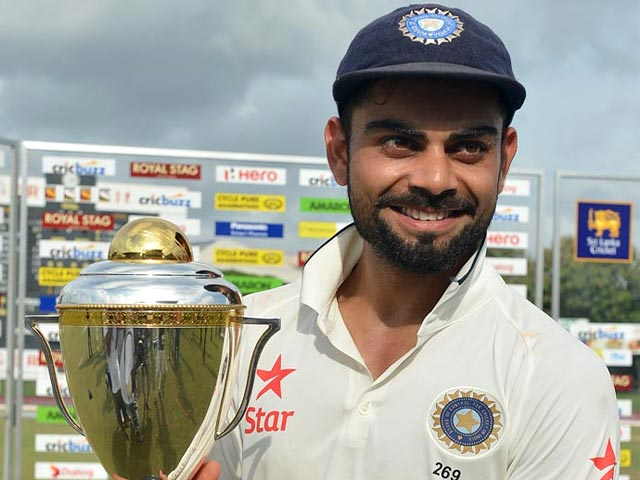 Virat Kohli Turns Cheerleader After Indian Conquest of Sri Lanka