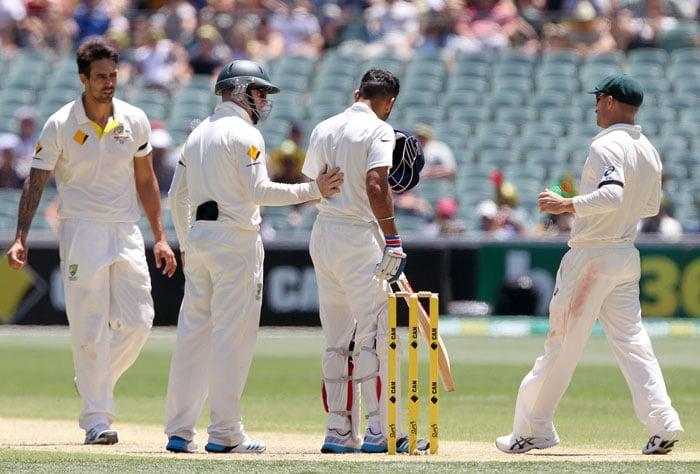1st Test, Day 2: Kohli Ton Leads Strong Indian Response