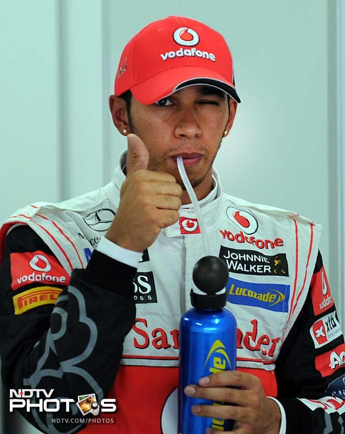 Finally Hamilton on pole in Korea