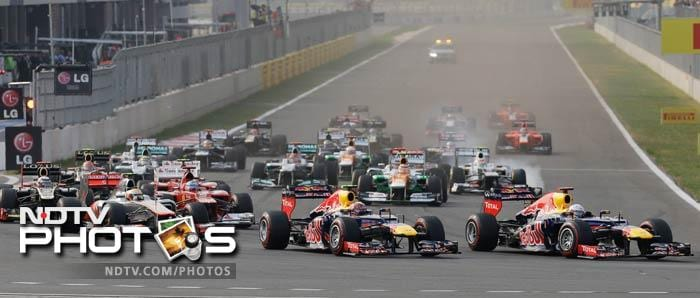 Korean GP: Sebastian Vettel wins to the lead championship race