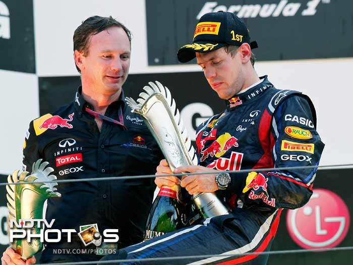 Korea: Vettel victory hands title to Red Bull