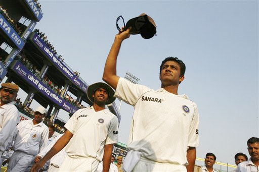 Anil Kumble: The final ovation
