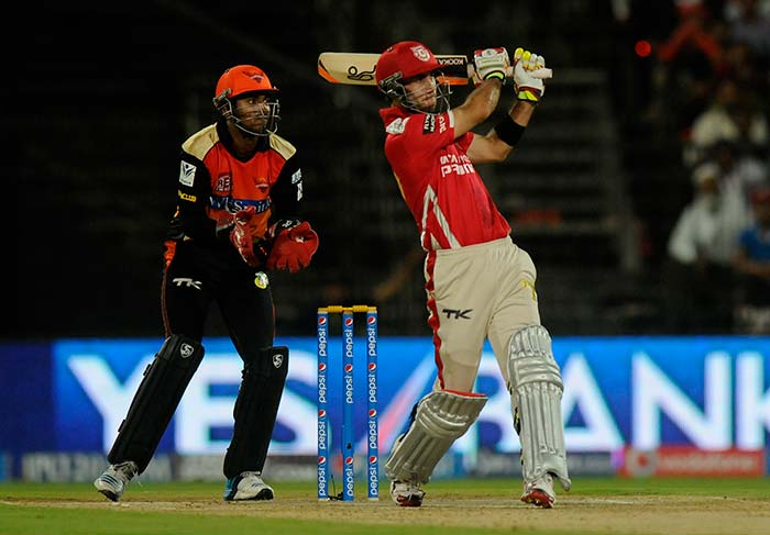 IPL 7: Maxwell punishes Sunrisers Hyderabad