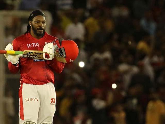 Chris Gayle Stars As Kings XI Punjab Overpower SunRisers Hyderabad By 15 Runs
