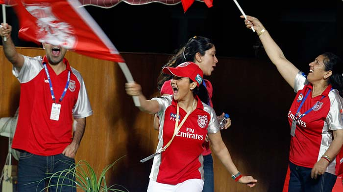 IPL 4: Punjab vs Bangalore
