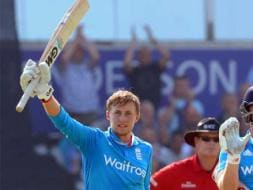 Photo : Joe Root Hundred Humbles India in Dead Rubber