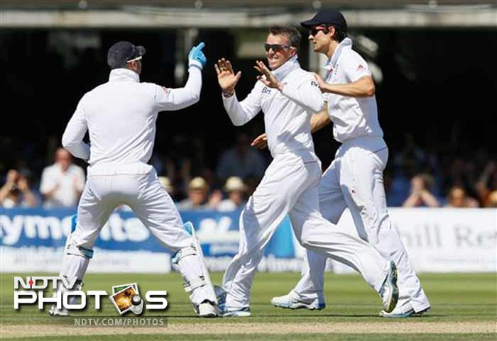 Second Test: Swann bags fifer as England dominate Day 2