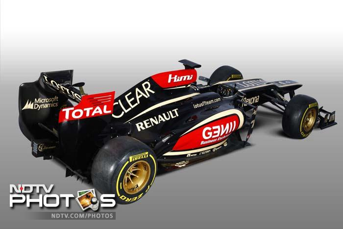Lotus unveils 2013 season's first F1 car - the E21