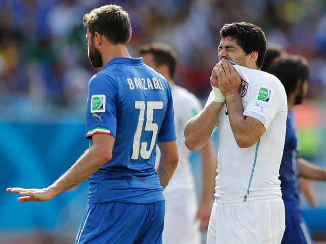 Bite Crazy: Luis Suarez, the Hand, Mouth and Foot of God