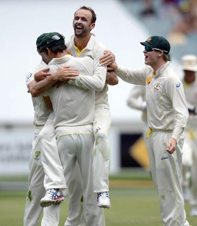 Lyon roars, Australia sense 4-0 series lead