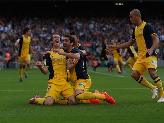 Photo : Atletico Madrid win Spanish League
