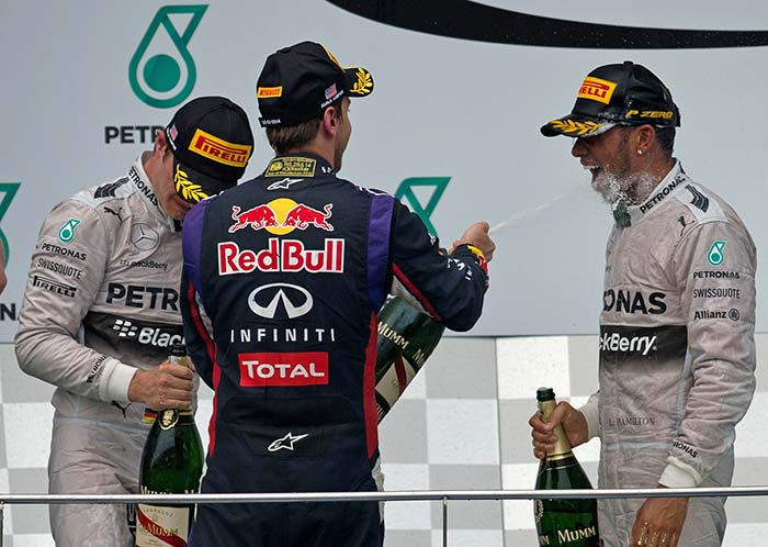 Lewis Hamilton wins Malaysian Grand Prix