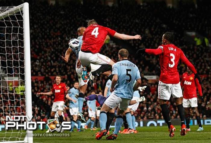 City beat United in Manchester derby