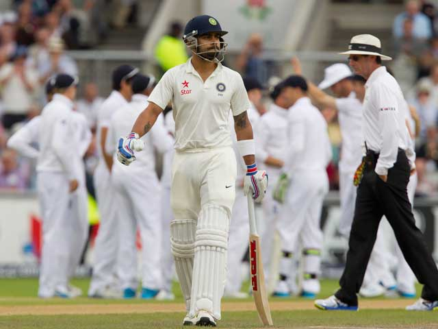 4th Test, Day 1: England Leave Indian Batsmen in Shambles