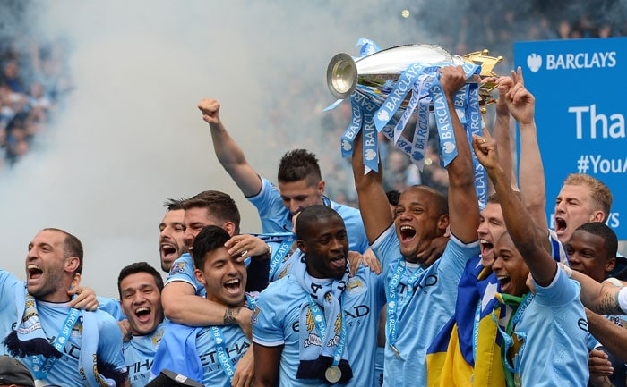 Manchester City Crowned English Premier League Champions