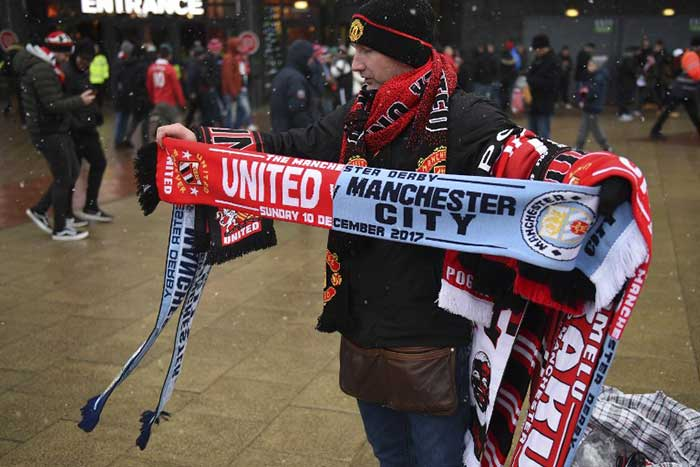 Premier League: City Win Manchester Derby, Everton Hold Off Liverpool