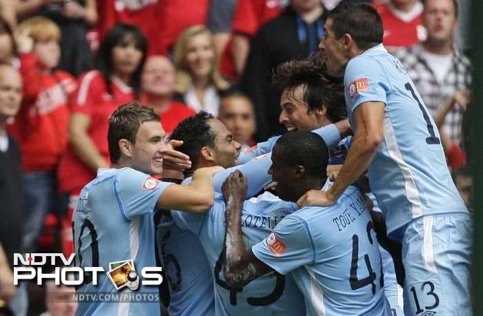 Man Utd beat Man City to win FA Community Shield