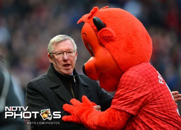 Many moods of Sir Alex Ferguson