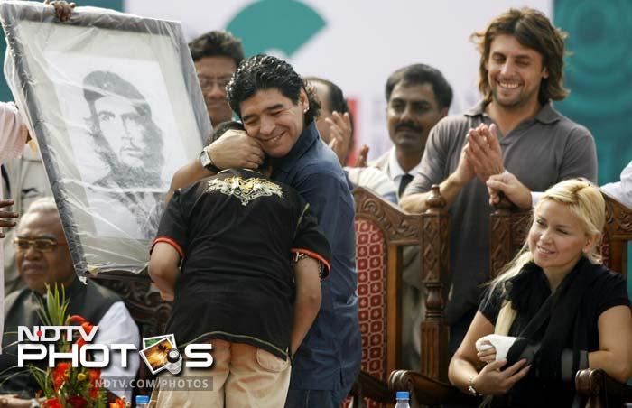 Maradona in India — the mania revisited
