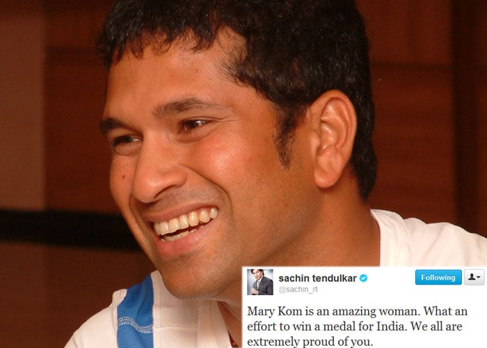 Celebs thank Mary Kom on Twitter