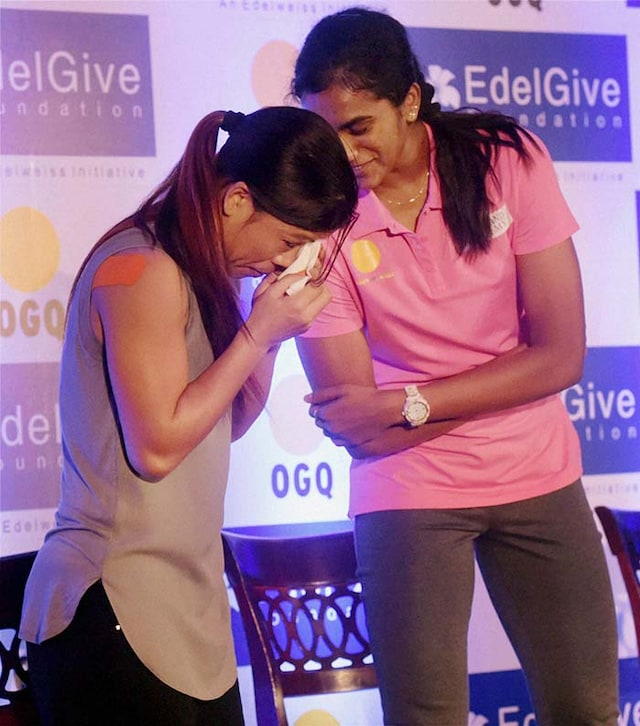 When Superwoman MC Mary Kom Was Driven to Tears