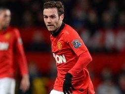 Winning start for Juan Mata at Manchester United