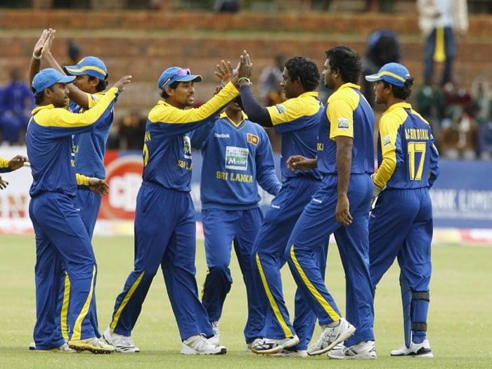 3rd ODI: Zim vs SL